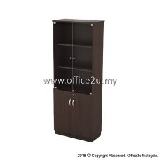 Q-YGD21-W SWINGING GLASS DOOR HIGH CABINET